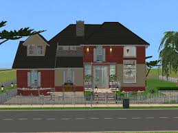 Two Story Houses by Mod The Sims 13 Strawberry Lane A Two Story House With Two