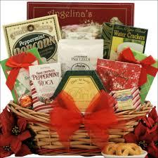 christmas gift basket tidings of medium gourmet christmas gift basket