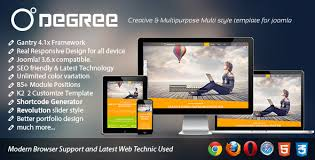 degree creative and responsive joomla template by bdthemes