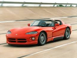 Dodge Viper 1994 - proving fotos de carros
