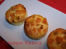 cuisiner la patate douce mini flans de patate douce bouchées apéritives