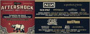 nine inch nails ozzy osbourne a perfect circle set for