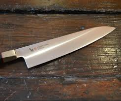 mcusta zanmai vg 10 japanese knives black pakka wood hexagon