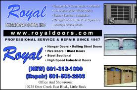 Royal Overhead Door Royal Overhead Door Inc Rock Ar 72103 Yellowbook