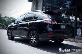 lexus rx rims lexus rx with 20in lexani css15 wheels exclusively from butler