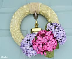 Wreath Diy 15 Diy Spring Wreaths Ideas For Spring Front Door Wreath Crafts