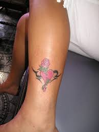 easy heart tattoo designs cool