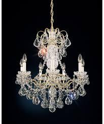 New Orleans Chandeliers Schonbek 3656 New Orleans 24 Inch Wide 7 Light Chandelier