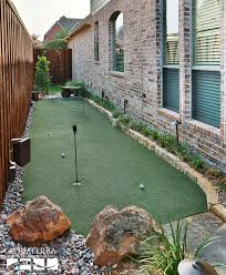 Small Backyard Putting Green 36 Best At Home Putting Greens Images On Pinterest Backyard