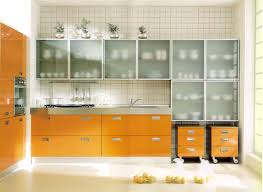 Kitchen Cabinets With Frosted Glass Kitchen Cabinet Modern Frosted Glass Kitchen Cabinet With 2