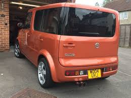 honda cube nissan cube in rare orange in gloucester gloucestershire gumtree