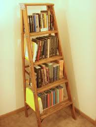 ladder bookshelf 5 steps with pictures