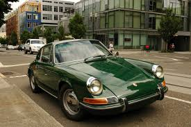 green porsche convertible old parked cars 1967 porsche 912 another porsche project