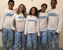 childrens pajamas etsy