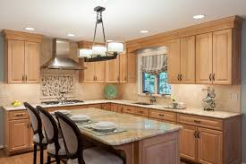 Kitchen Colors With Light Wood Cabinets Tag For Kitchen Colors With Medium Wood Cabinets Nanilumi
