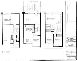 3 story townhouse floor plans mid century modern and 1970s era ottawa beaverbrook kanata