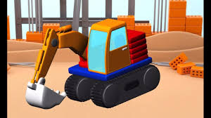 build and play 3d colorful kids games build vehicles dump