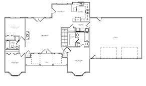 split bedroom floor plan split ranch floor plans 4 bedroom split level floor plans design