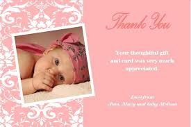 personalised christening thank you cards 6