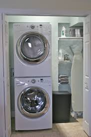 Storage Laundry Room by Home Design Laundry Room Ideas Stacked Washer Dryer Bar Entry