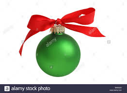 Christmas Ornament With Photo Christmas Ornament With Bow Cut Out Isolated On White Background