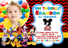 mickey mouse clubhouse invitation birthday party by forlittlekids