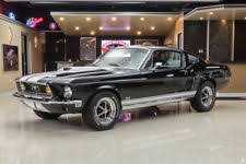 1968 ford mustang black 1968 ford mustang fastback ebay