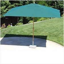 8 Ft Patio Umbrella 8 X 11 Rectangular Patio Umbrella More Eye Catching Erm Csd
