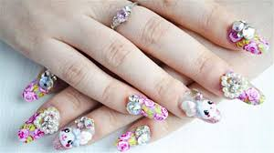 3d Nails Art Designs Elegant And Beautiful Japanese 3d Nail Art Designs Supplies And