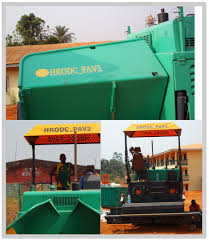 asphalt paver tarmac bitumen paving machine concrete paving machine
