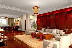 interior modern chinese interior design concept with chic