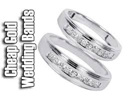wedding ring white gold cheap white gold wedding rings his and hers wedding band sets