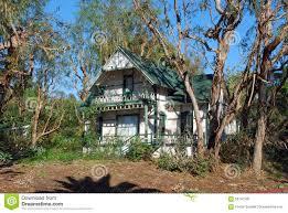 historical house in laguna beach california stock photo image