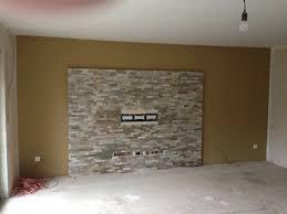 echte steinwand im wohnzimmer 2 haus renovierung mit modernem innenarchitektur geräumiges
