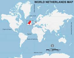 netherlands location in europe map this picture shows where the netherlands is located in the world