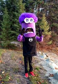 purple minion costume diy purple minion costume idea