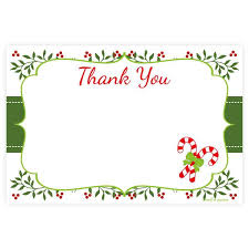 christmas thank you cards thank you cards