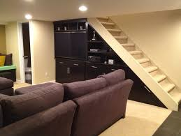 best use of space under the basement stairs