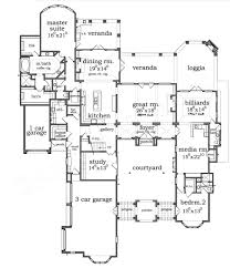Garage Home Floor Plans by Savenay Ranch Floor Plans Small Luxury House Plans