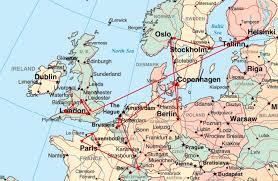 map of n europe prg 2009 western europe speaking tour