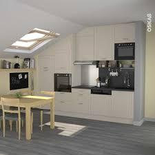 cuisine sous pente cuisine argile faa ade traditionnelle silen mat inspirations et