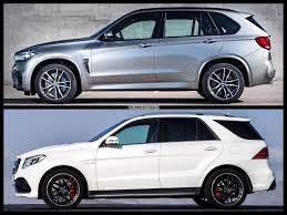 bmw jeep 2015 bmw x5 m vs 2015 mercedes benz gle63 amg