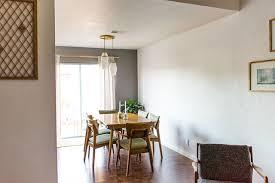 client reveal mid century modern dining room michaela noelle