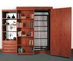Murphy Bed With Bookshelves Intriguing And Wonderful Murphy Bed Bookshelf Intended For