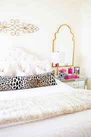 Pink Gold And White Bedroom Best 25 Glam Bedroom Ideas On Pinterest College Bedroom Decor