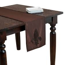 Fleur De Lis Patio Furniture Fleur De Lis Beaded Table Runner Free Shipping On Orders Over