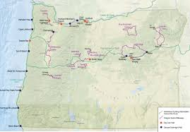Highway Map Of Oregon by A Closer Look At Oregon U0027s Plans For A U0027bike Pod U0027 Network