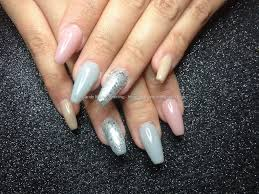eye candy nails u0026 training coffin style nails with colours