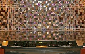 Glass Tile Backsplash Ideas For Kitchens Chairs Gorgeous Kitchen Interior Design With Multicolored Mosaic