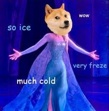 Elsa Frozen Meme - pin by vivika ramos on bedteim story doge meme pinterest doge